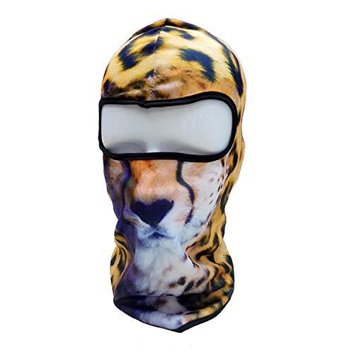 3D Cat Dog Animal Balaclava Bicycle Bike Hats Snowboard Tiger Party Halloween Helmet Liner Winter Warmer Hats