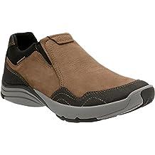 Clarks Wave Bay Mens Slip On Loafer Sneakers