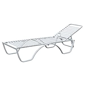 Homdox chaise lounge chair outdoor patio pool for Adams 5 position chaise lounge white