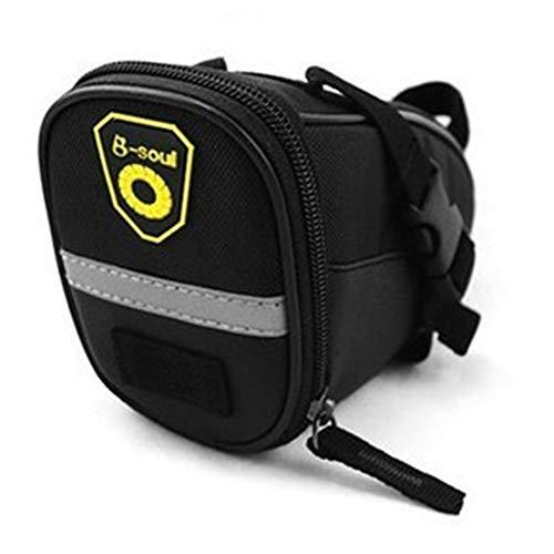 - Bike Saddle Bag Mountain Bike Seat Pack Bicycle Tail Bag Outdoor Waterproof Saddle Tail Seat Storage Multiple Colour