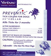 Preventic Tick Collar for Dogs