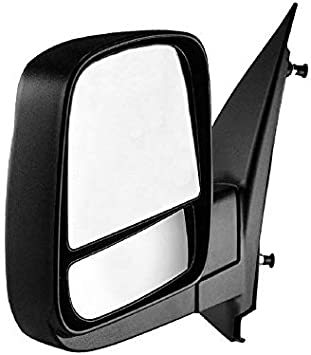 Fits Chevy City Express Replacement Passenger Side Power View Mirror Heated, Foldaway