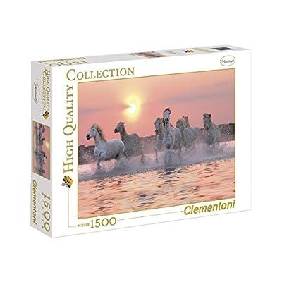 Clementoni 31991 Puzzle Collezione Alta Qualit Camargue Horses 1500 Pezzi