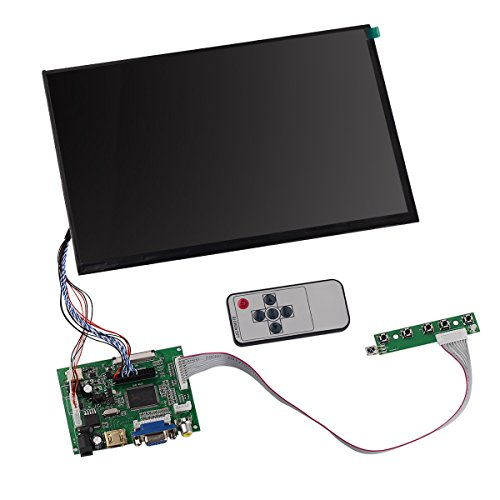 Tontec 10 1 Inches 1280 800 Ips Raspberry Pi Screen Display Lcd Tft Monitor With Remote
