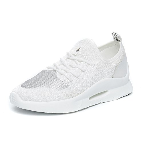 NGRDX&G Sneakers Knit Sneakers Calzado Casual Para Mujer, Blanco, 39 39 White