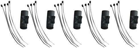 オートバイ ハンドルバー マウント Garmin eTrex Dakota 10 20 30 GPS Rinoに対応 5セット