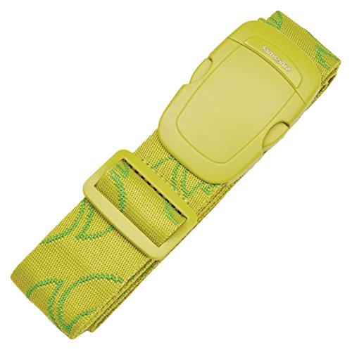 Samsonite Luggage Strap, Vivid Green