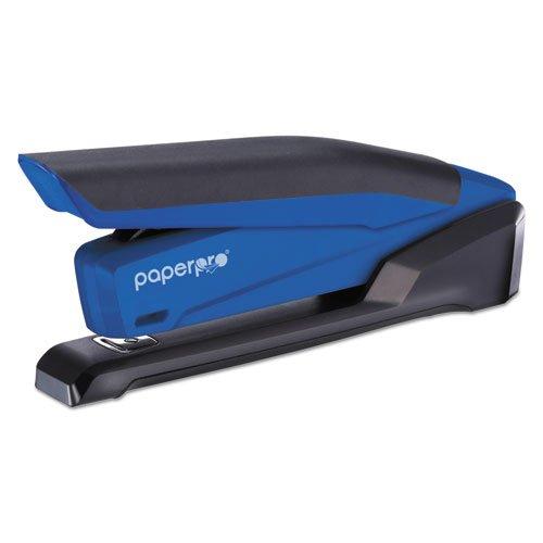 Desktop Stapler, 20-Sheet Capacity, Translucent Blue, Sold as 1 Each