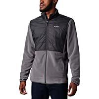 Columbia Basin Butte Fleece Full Zip Men's Jacket (City Grey/Shark)