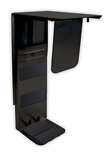 Fully CPU Holder - Under Desk Mount (Black)