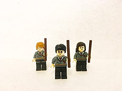 Harry, Hermione and Ronald Minifigures