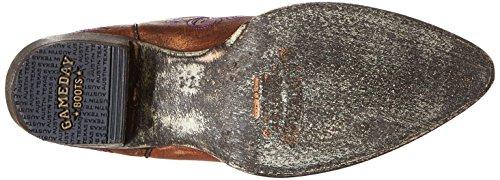 Ncaa Tarleton Tilstand Texans Womens 13-tommers Gameday Støvler Messing