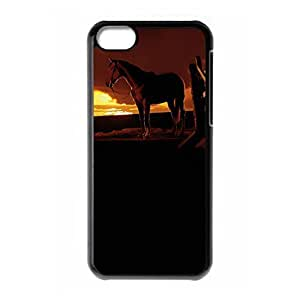 Hard back case with WarHorse theme for iPhone 5C by lolosakes