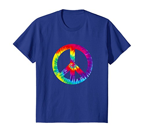 Peace Sign T Shirt 60s 70s Hippy Costume