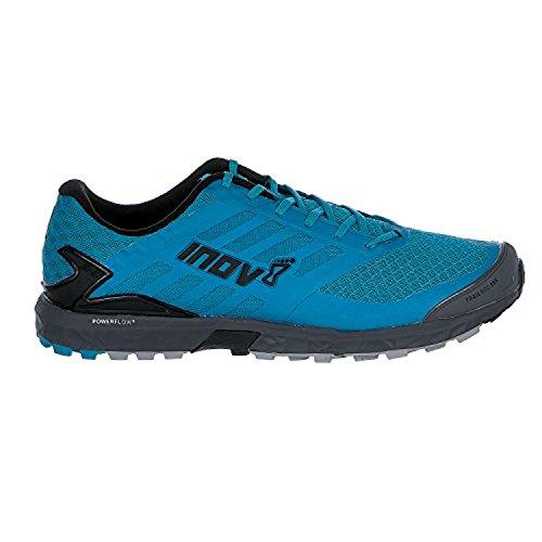 Inov8 Mens Trailroc 285 Trail Hardloopschoenen & Trainingsvizier Bundel Blauw / Grijs
