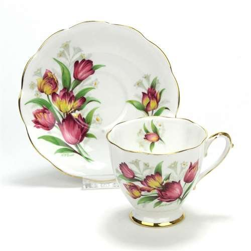 - Fantasy by Royal Standard, China Cup & Saucer