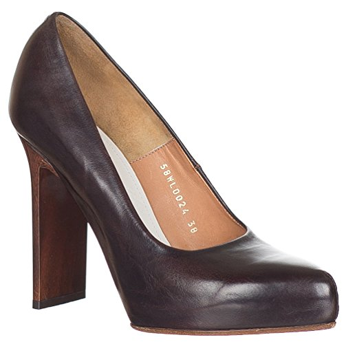 maison-martin-margiela-womens-brown-leather-flat-heel-pumps-court-shoes-brown-8