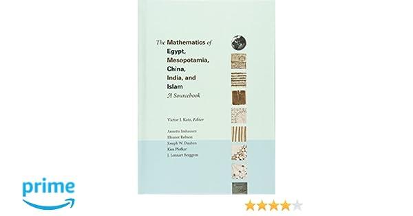 Amazon victor j katz books biography blog audiobooks kindle the mathematics of egypt mesopotamia china india and islam a sourcebook fandeluxe Image collections
