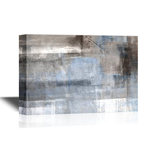 Abstract Grunge Grey Color Composition Gallery
