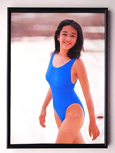 額装西田ひかるハイレグ水着セクシー80年代アートフレームポスター写真集カタログカレンダーCD