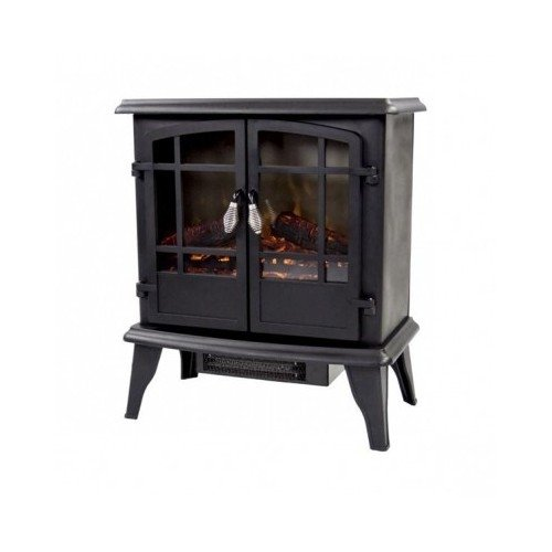 "Pleasant Hearth 20"" Panoramic Electric Fireplace Vintage"