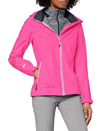 Icepeak Damen Sandy, Fleecejacke mit Kapuze, Pink (framboise 638), 44