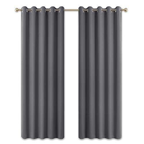 PONY DANCE Curtains 90 Drop - 66 x 90 inch Eyelet...