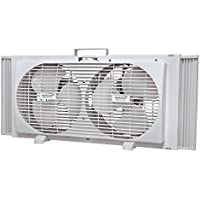 BRENTWOOD F-2X9TW 2-in-1 Window Fan
