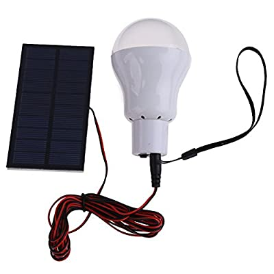 Vktech® Portable Solar Power LED Bulb Lamp Outdoor Lighting Camp Tent Fishing Lamp