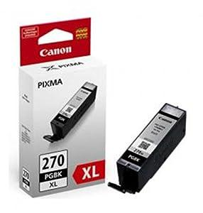 Canon PGI-270 XL Pigment Black Ink, Compatible to MG7720,MG6820,MG6821,MG6822,MG5720,MG5722,MG5721