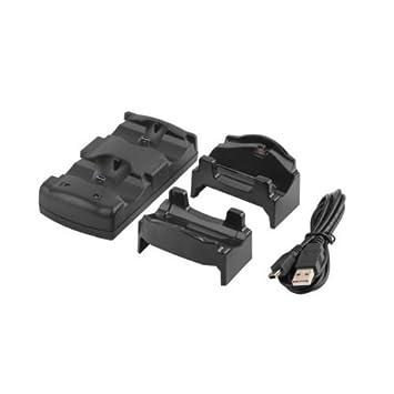 datconshop (TM) Dual USB cargador de carga estación de ...