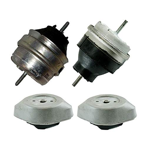 ONNURI For 1997-2001 Audi A4 1.8L Engine Motor & Transmission Mount Set 4pcs : A6922, A6926, A6924, A6924 - K2301