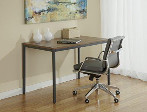 """JESPER Unique Furniture P4727-WAL Parson Desk, 47"""", Walnut"""