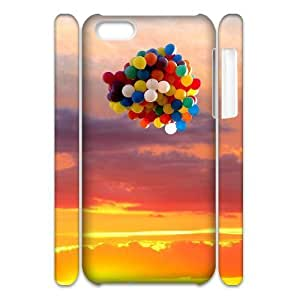 linJUN FENGBalloons 3D-Printed ZLB809023 Custom 3D Phone Case for iphone 4/4s