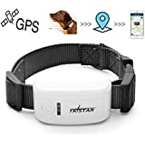 Pet Tracker,GPS Dog Collar GPS Tracker for Dogs Dog Waterproof GPS Tracker Real Time Tracking Device, Pet GPS Tracker with Free App TK909