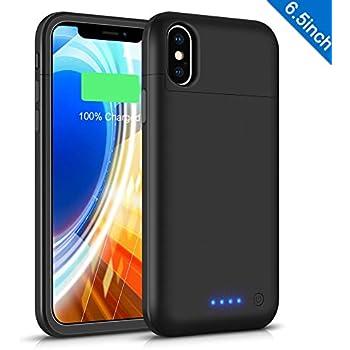 Amazon.com: FNSON - Funda de batería para iPhone XS MAX de ...