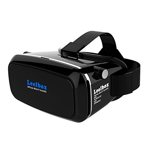 Leelbox-3D-VR-Glasses-Google-Cardboard-360-degree-Viewing-Immersive-Virtual-Reality-3D-Video-Games-Glasses-VR-Headset-Compatible-with-Smartphone-35-60-inch-with-Retail-Package