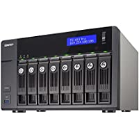 QNAP TS-853 Pro 8-Bay Professional-grade NAS, Intel 2.0GHz Quad Core CPU with Media Transcoding (TS-853-PRO-US)