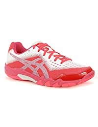 ASICS Gel Blade 6 Womens Tennis Shoe (Diva Pink/Silver)