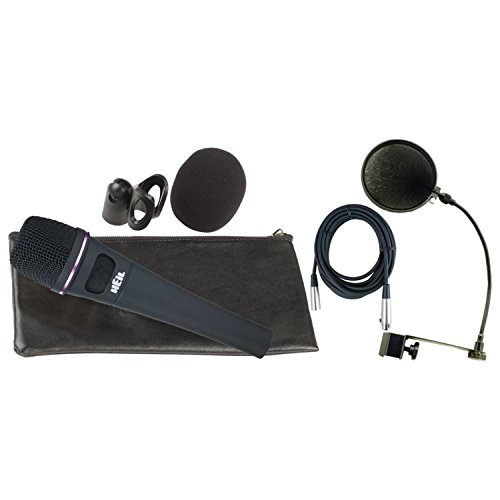 (Heil PR35 Microphone w/Carrying Bag, Microphone Clip, Windscreen, XLR Cable, and Pop Filter!)