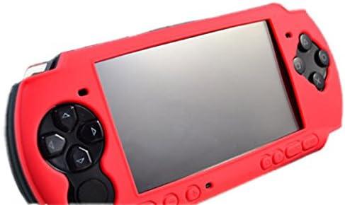 VCOER Rojo El nuevo estuche protector PSP-shell funda protectora de silicona caso PSP silicona caso PSP3000: Amazon.es: Electrónica