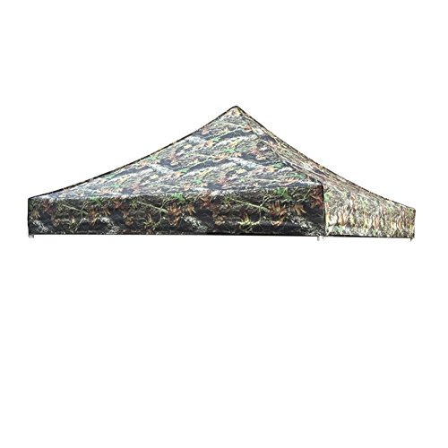 Eurmax New Pop up 10x10 Canopy Replacement Instant Ez Canopy Top Cover (Camouflage Canopy)