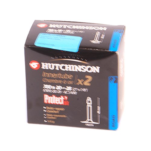 Hutchinson Protect'Air Puncture Resistant Presta Tube 700x20-25 2-Pack