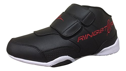 Ringstar Fight Pro Martial Arts Shoe, Black, 7 (Sparring Martial Shoes Arts)