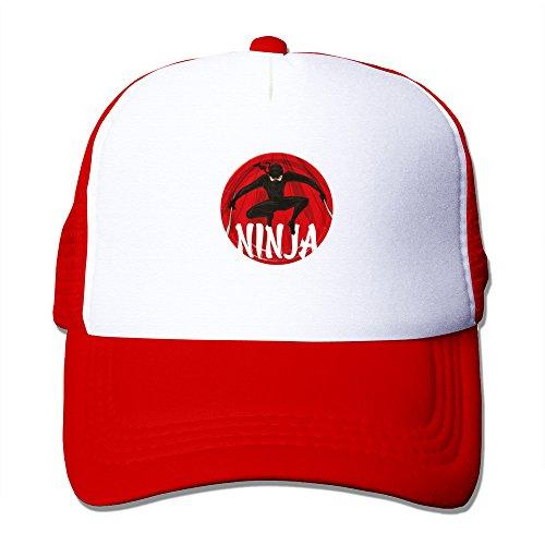 - Ninja Warrior Party Dinner Plates Mesh Adjustable Sun Hats Unisex Caps