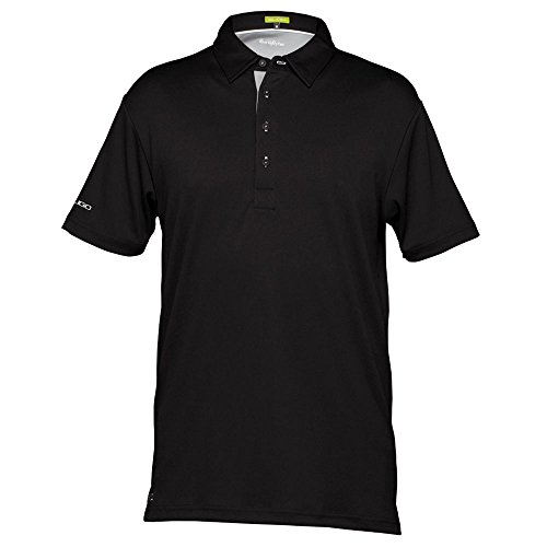 Sligo Douglas 382 Golf Polo 2017 Black (Sligo Golf)
