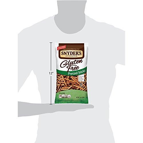 Snyder's of Hanover Gluten Free Pretzel Sticks, 8 Ounce (Pack of 12) by Snyder's of Hanover (Image #6)