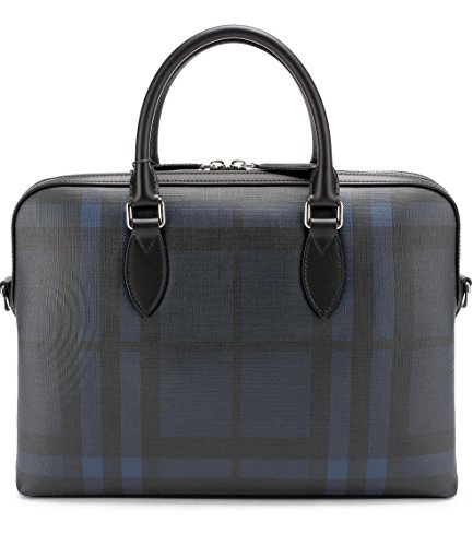 Burberry Burberry THE BARROW Briefcase (Navy/Black) - Collection Burberry