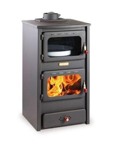 Estufa de leña con horno de hierro fundido: Amazon.es: Bricolaje y herramientas