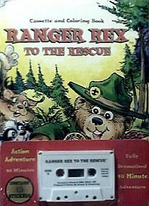 Ranger Rex to the Rescue (Cassette and coloring Book) by Ranger Products